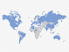 AXA mapa
